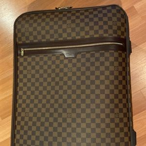 Louis Vuitton Pegase 65 Damier Ebene luggage